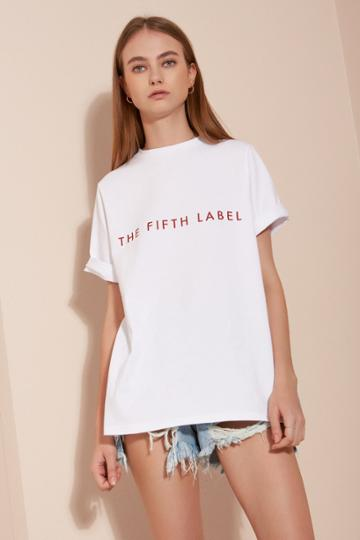 The Fifth Change Of Place T-shirt White