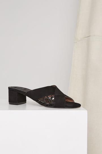 Jaggar Footwear Attain Heel Black