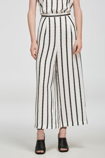 Finders Keepers Windsor Culotte White Base Spot Print