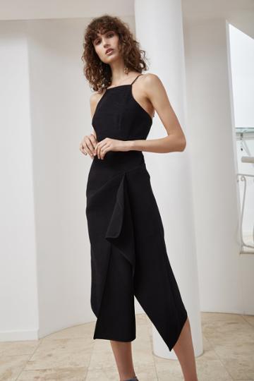 C/meo Collective C/meo Collective Fluidity Midi Dress Black