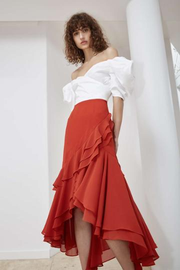 C/meo Collective Allude Skirt Redxxs, Xs,s,m,l,xl