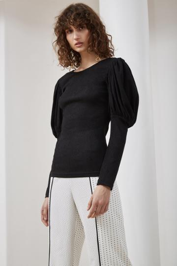 C/meo Collective C/meo Collective Circuit Long Sleeve Top Black