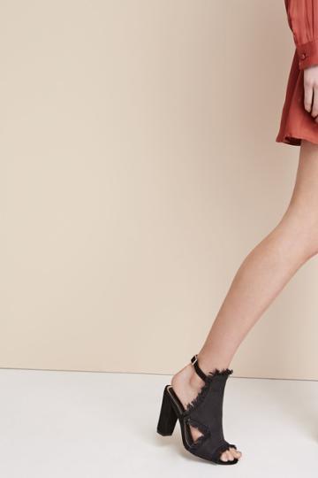 Jaggar Footwear Vertex Heel Black