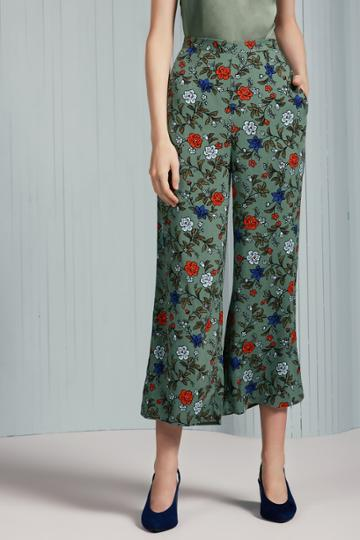 The Fifth The Fifth Assonance Pant Sage Floralxxs, Xs,s,m,xl