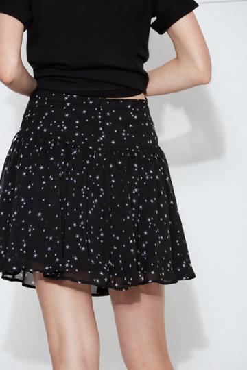 The Fifth The Fifth Capital Skirt Black Starxxs, Xs,s,m,xl