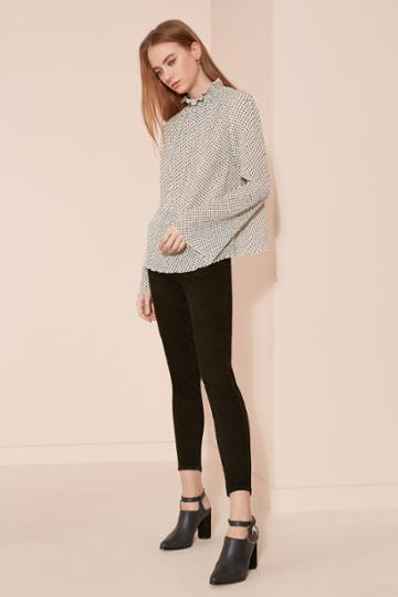 The Fifth Night Vision Long Sleeve Top Daybreak Sky Print