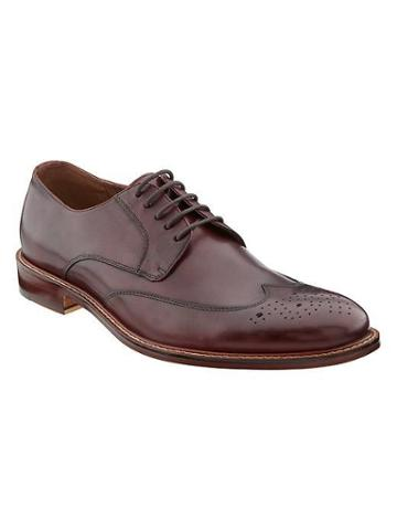 Banana Republic Digby Brogue - Burgundy