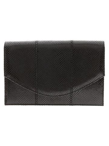 Banana Republic Natalie Black Clutch - Black