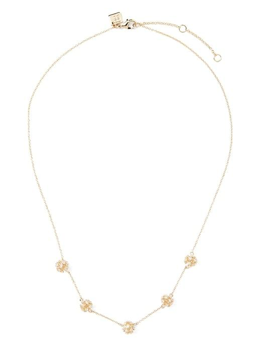 Banana Republic Womens Delicate Fireball Necklace Gold Size One Size