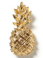 Banana Republic Pineapple Brooch Size One Size - Gold