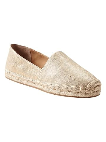 Banana Republic Canvas Espadrille