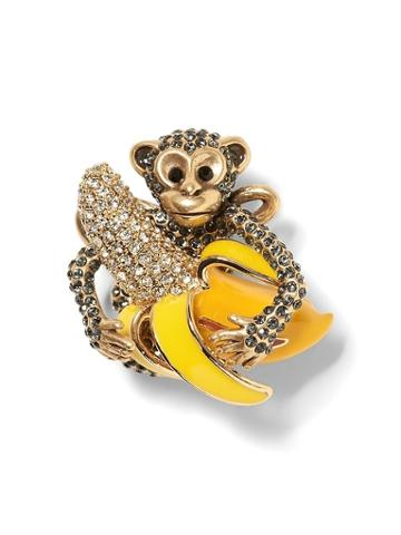 Banana Republic Monkey & Banana Brooch