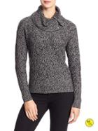 Banana Republic Factory Cowl Neck Sweater Size L - Black