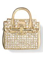 Banana Republic Whimsical Handbag Brooch - Multi