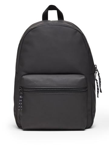 Banana Republic Water-resistant Rubberized Backpack