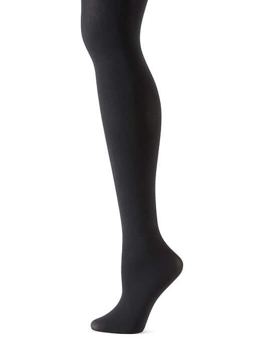 Banana Republic Matte Opaque Tights - Black