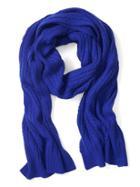 Banana Republic Cable Scarf - Royal Blue