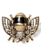 Banana Republic Bumblebee Brooch Size One Size - Brass