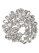 Banana Republic Crystal Leaf Brooch Size One Size - Clear Crystal