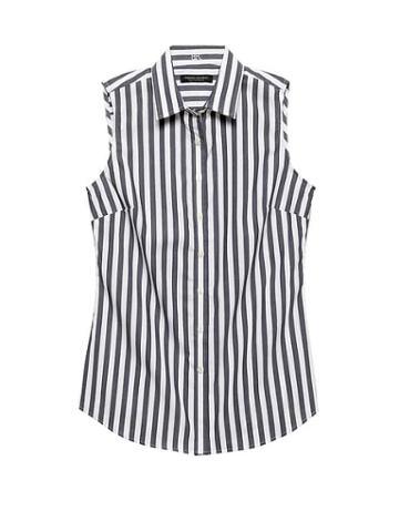 Banana Republic Petite Riley Tailored-fit Stripe Shirt