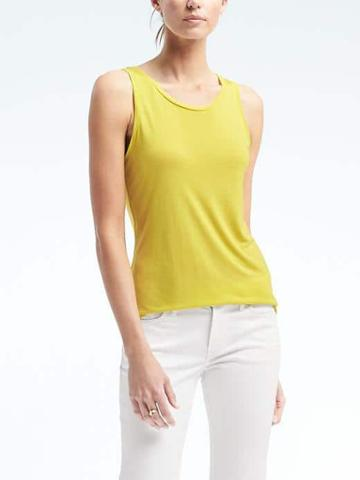Banana Republic Modal Tank - Citron
