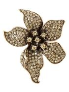Banana Republic Flower Brooch Size One Size - Gold