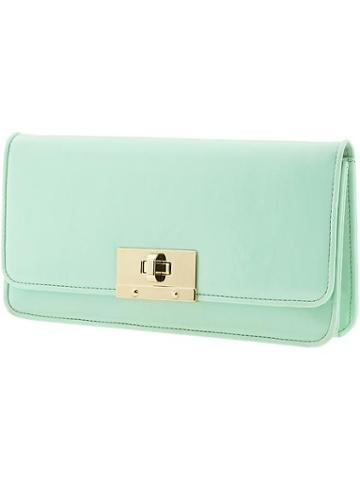 Banana Republic Patent Clutch