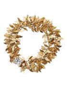 Banana Republic Womens Golden Leaves Bracelet Gold Size One Size