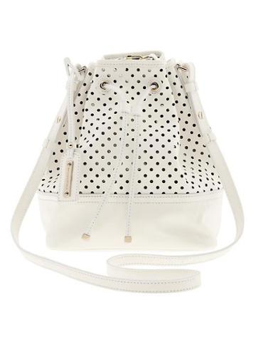 Banana Republic Dalia Bucket Bag - White