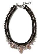 Banana Republic Debutante Chain Necklace Size One Size - Black