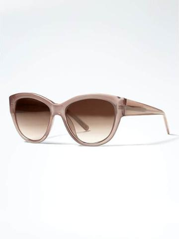 Banana Republic Satya Sunglasses - Taupe
