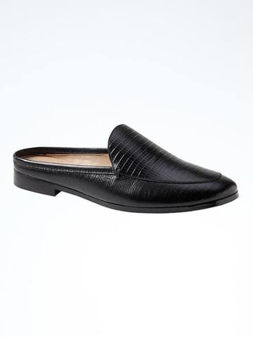 Banana Republic Demi Slide - Black