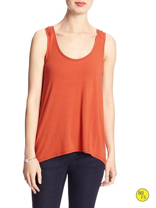 Banana Republic Factory Racer Back Tank Size L - Navajo Red