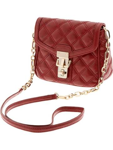 Banana Republic Quilted Faux Leather Cross Body