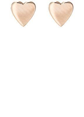 Jennifer Meyer Women's Heart Studs