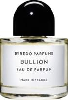 Byredo Women's Bullion Eau De Parfum 100ml