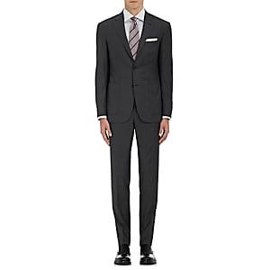 Canali Men's Kei Wool Two-button Suit - Charcoal