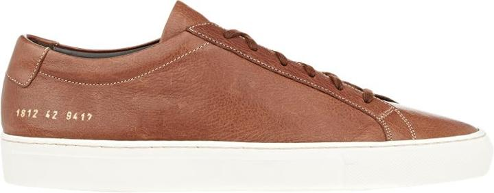 Common Projects Achilles Low-top Sneakers-brown