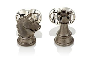 Deakin & Francis Men's Knight Chess Piece Cufflinks