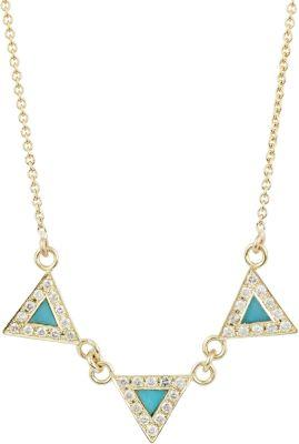 Jennifer Meyer Women's Banner Necklace