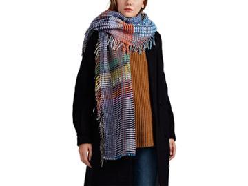 Wallace Sewell Women's Russell Basket-weave Wool Wrap