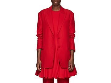 Valentino Women's Silk-wool Two-button Blazer