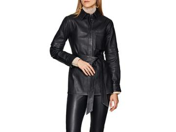 Boon The Shop Women's Belted Leather Top