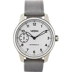 Weiss Men's Standard Issue Field Watch - White