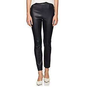 Boon The Shop Women's Leather Leggings - Black