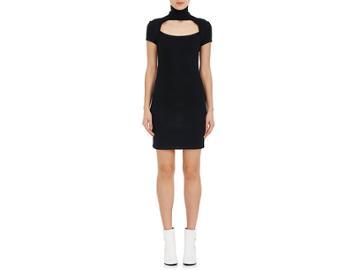 Helmut Lang Women's Cutout Wool-blend Minidress