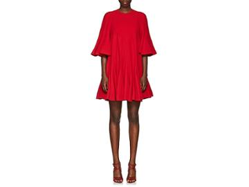 Valentino Women's Flounce Silk Minidress