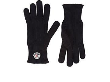 Moncler Men's Guanti Virgin Wool Gloves