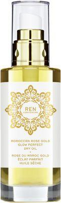 Ren Women's Moroccan Rose Gold Glow Perfect Dry Oil