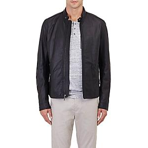 Vince. Men's Moto Jacket-black
